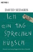 David Sedaris: Ich ein Tag sprechen hübsch ★★★★★