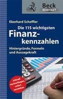 Eberhard Scheffler: Die 115 wichtigsten Finanzkennzahlen ★★★★