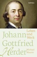 Michael Maurer: Johann Gottfried Herder