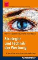 Werner Kroeber-Riel: Strategie und Technik der Werbung