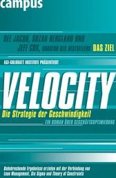 Velocity - Die Strategie der Geschwindigkeit - Ein Roman über Geschäftsoptimierung