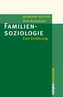 Johannes Huinink: Familiensoziologie