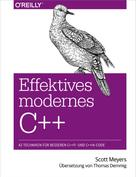 Scott Meyers: Effektives modernes C++