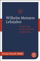 Johann Wolfgang von Goethe: Wilhelm Meisters Lehrjahre