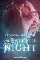 Leonora Stratton: One fateful Night ★★★★