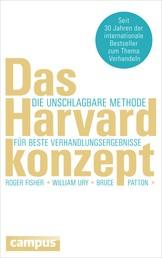 Das Harvard-Konzept - Die unschlagbare Methode für beste Verhandlungsergebnisse
