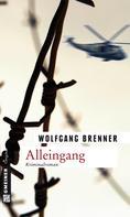 Wolfgang Brenner: Alleingang ★★★