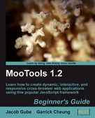 Jacob Gube: MooTools 1.2 Beginner's Guide