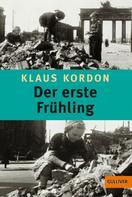 Klaus Kordon: Der erste Frühling ★★★★★