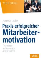 Hartmut Laufer: Praxis erfolgreicher Mitarbeitermotivation