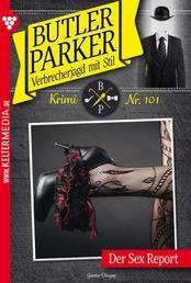 Butler Parker 101 – Kriminalroman - Der Sex Report