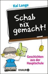 Schab nix gemacht! - Geschichten aus der Hauptschule