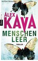 Alex Kava: Menschenleer ★★★★
