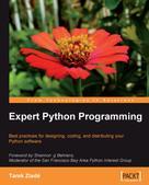 Tarek Ziade: Expert Python Programming