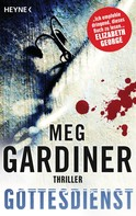 Meg Gardiner: Gottesdienst ★★★★