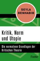 Seyla Benhabib: Kritik, Norm und Utopie