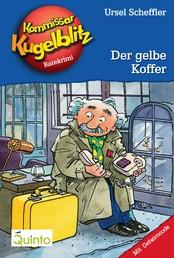Kommissar Kugelblitz 03. Der gelbe Koffer - Kommissar Kugelblitz Ratekrimis