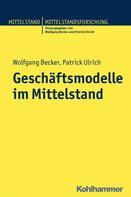 Wolfgang Becker: Geschäftsmodelle im Mittelstand
