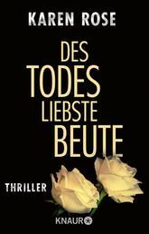 Des Todes liebste Beute - Thriller