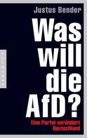 Justus Bender: Was will die AfD? ★★★★★