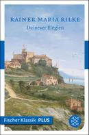 Rainer Maria Rilke: Duineser Elegien