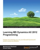 Mohammed Rasheed: Learning MS Dynamics AX 2012 Programming