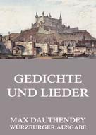 Max Dauthendey: Gedichte und Lieder ★★★