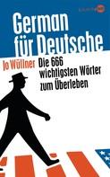 Jo Wüllner: German für Deutsche ★★★