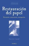 Maurizio Copedé: Restauración del papel