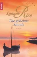 Luanne Rice: Die geheime Stunde ★★★★