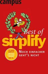 Best of Simplify - Noch einfacher geht's nicht