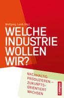 Wolfgang Lemb: Welche Industrie wollen wir?